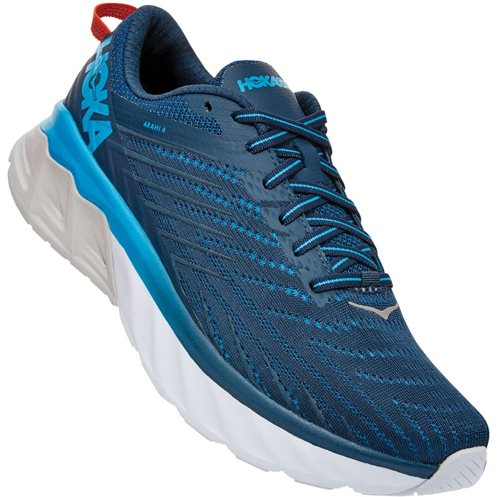 Image for Hoka One One Men's Arahi 4 Wide Athletic Shoes - Majolica Blue from bootbay