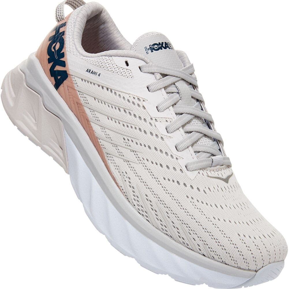 Image for Hoka One One Women's Arahi 4 Wide Athletic Shoes - Nimbus Cloud from elliottsboots