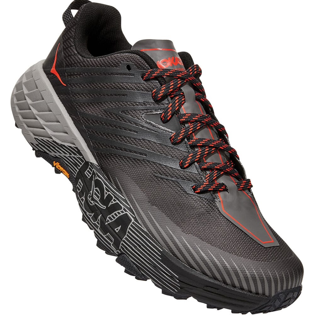 Image for Hoka One One Men's Speedgoat 4 Athletic Shoes - Dark Gull from bootbay