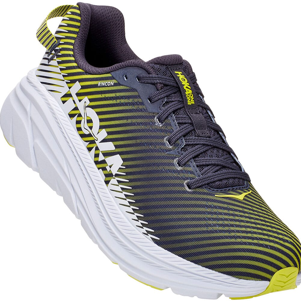 Image for Hoka One One Men's Rincon 2 Running Shoes - Odyssey Grey/White from bootbay