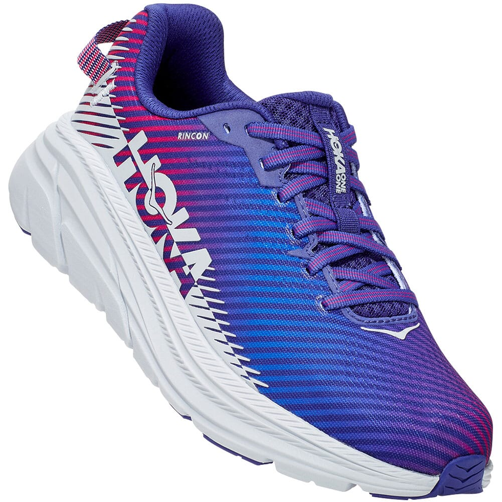 Image for Hoka One One Women's Rincon 2 Running Shoes - Clematis Blue/Arctic from elliottsboots