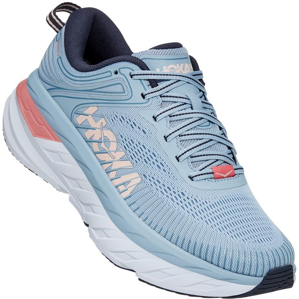 Image for Hoka One One Women's Bondi 7 Athletic Shoes - Blue Fog from bootbay