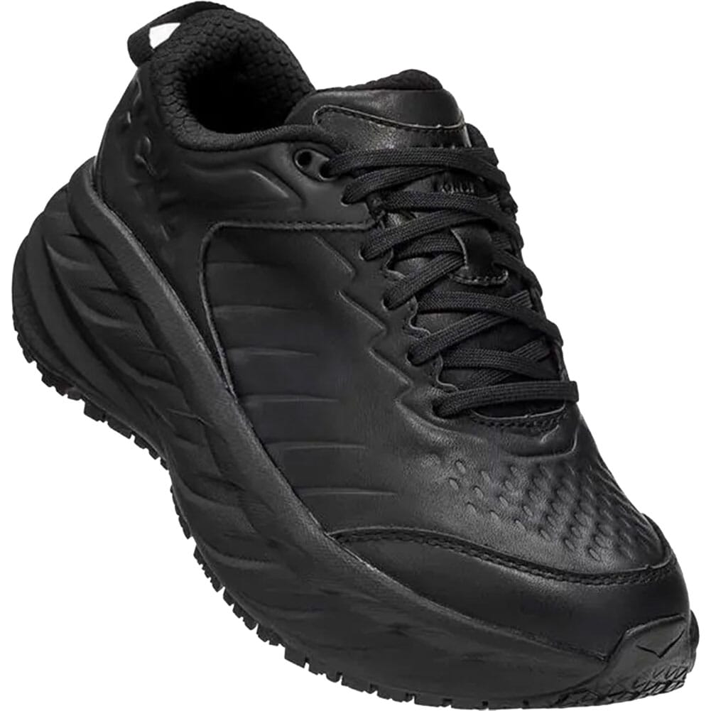 Image for Hoka One One Women's Bondi SR Running Shoes - Black from elliottsboots