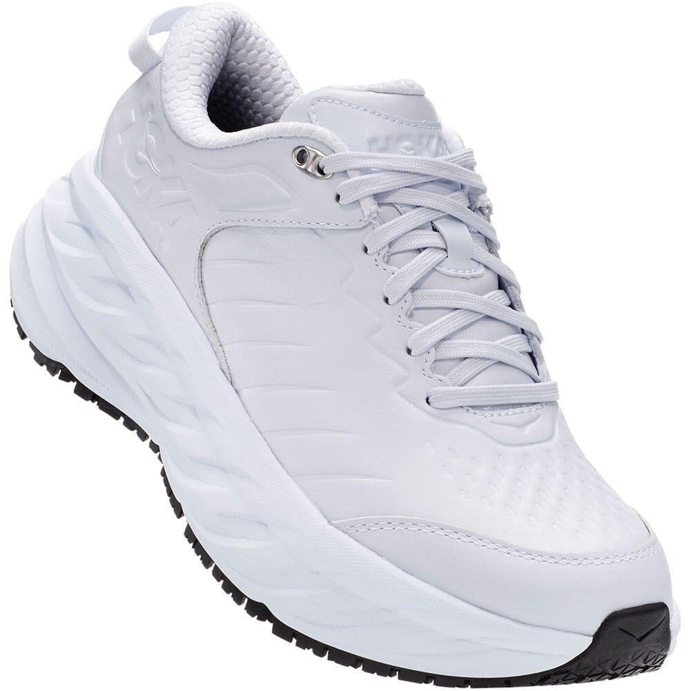 Image for Hoka One One Women's Bondi SR Running Shoes - White from bootbay