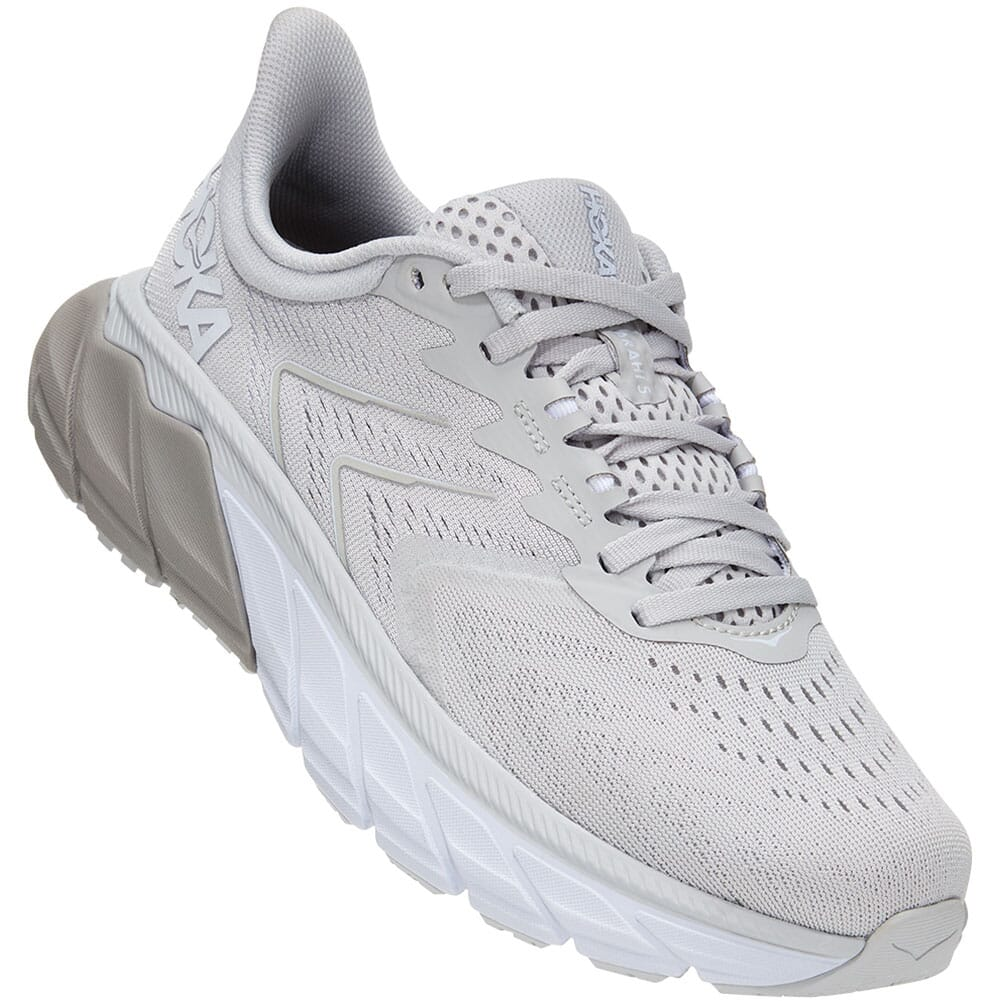 Image for Hoka One One Women's Arahi 5 Running Shoes - Lunar Rock/Drizzle from bootbay
