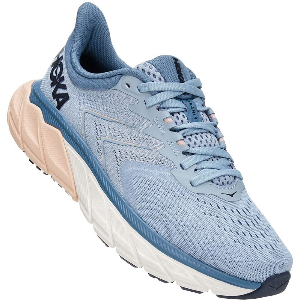 Image for Hoka One One Women's Arahi 5 Wide Running Shoes - Blue Fog from bootbay