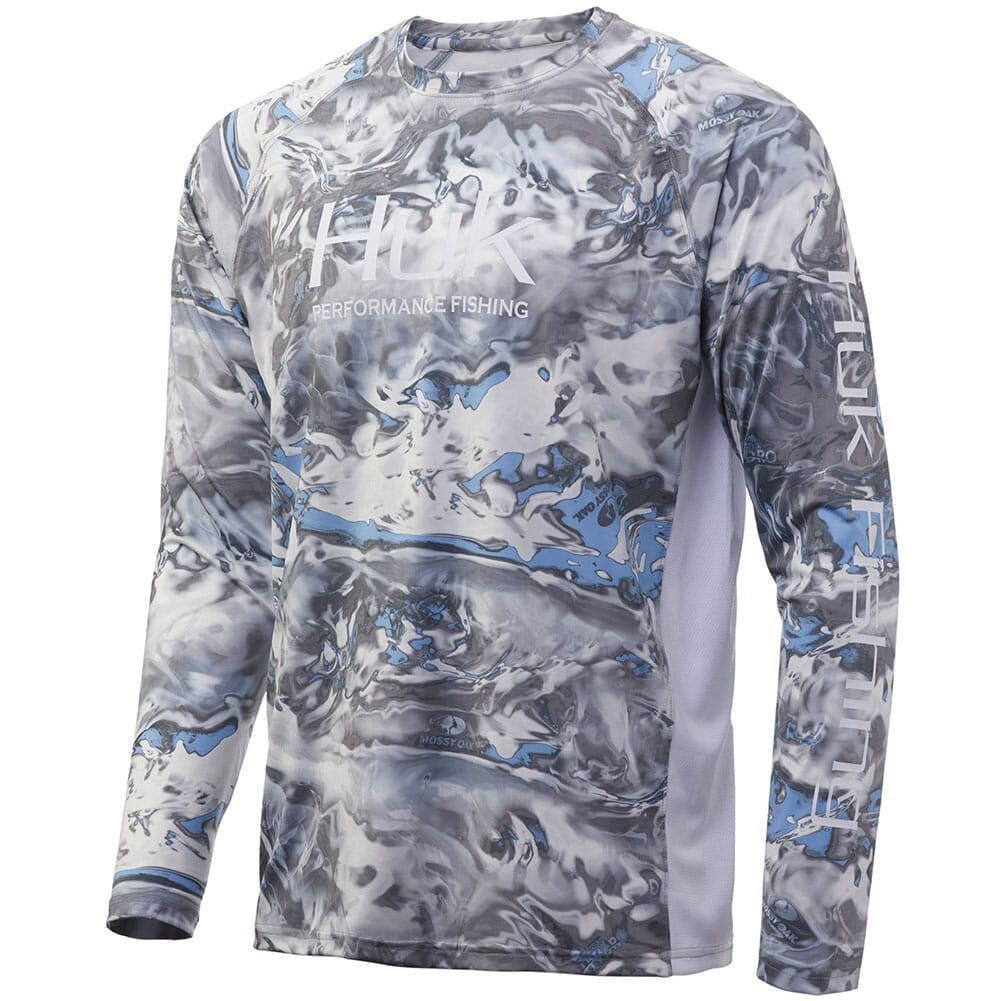 Image for HUK Men's Pursuit Long Sleeve - Mossy Oak (Instore Only) from bootbay