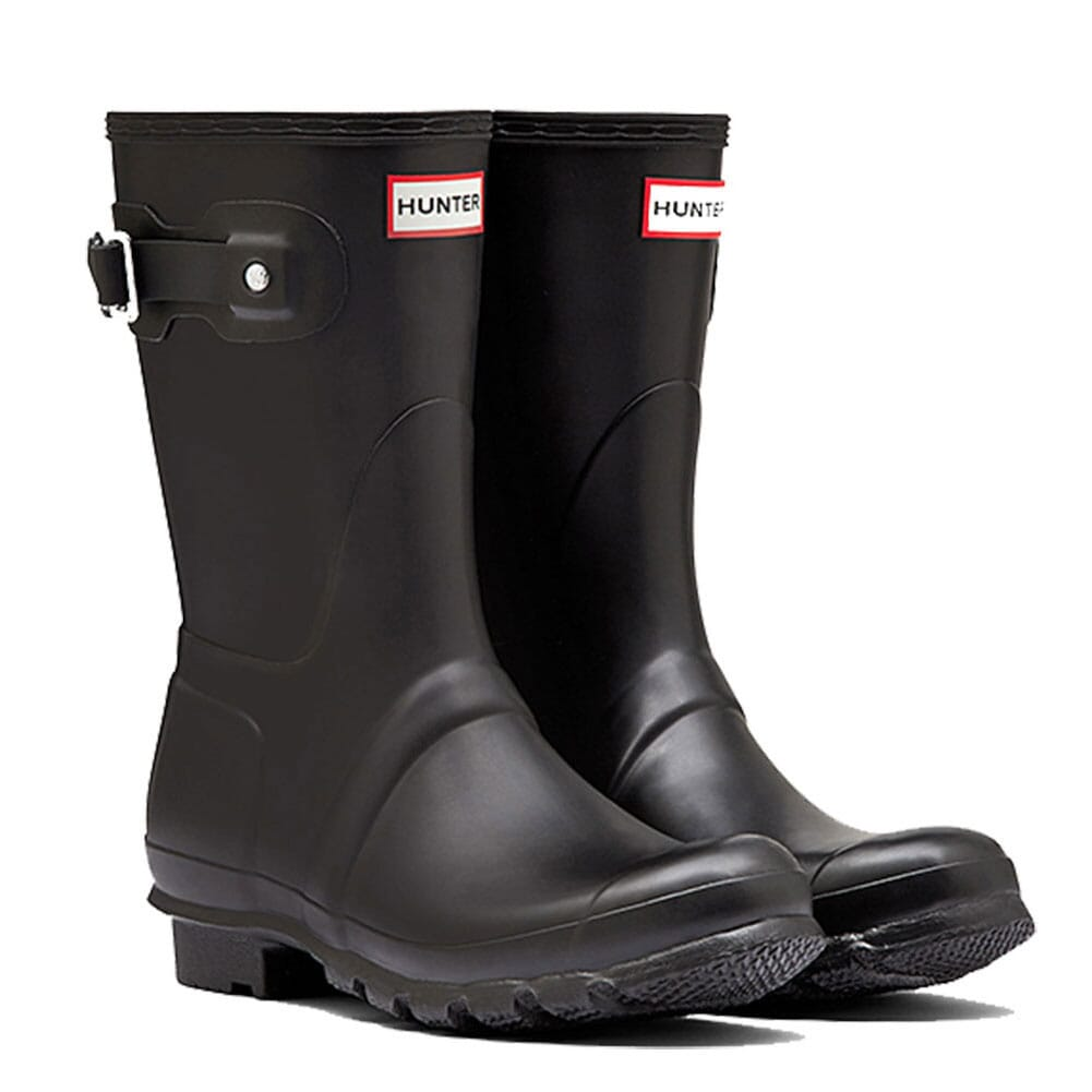 Image for Hunter Women's Short Rain Boots - Black from elliottsboots