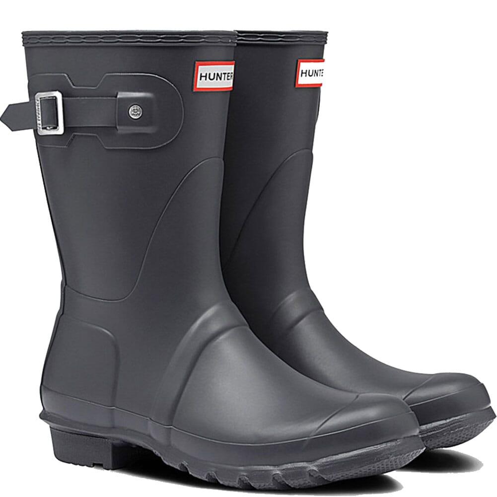 Image for Hunter Women's Original Short Rain Boots - Dark Slate from elliottsboots