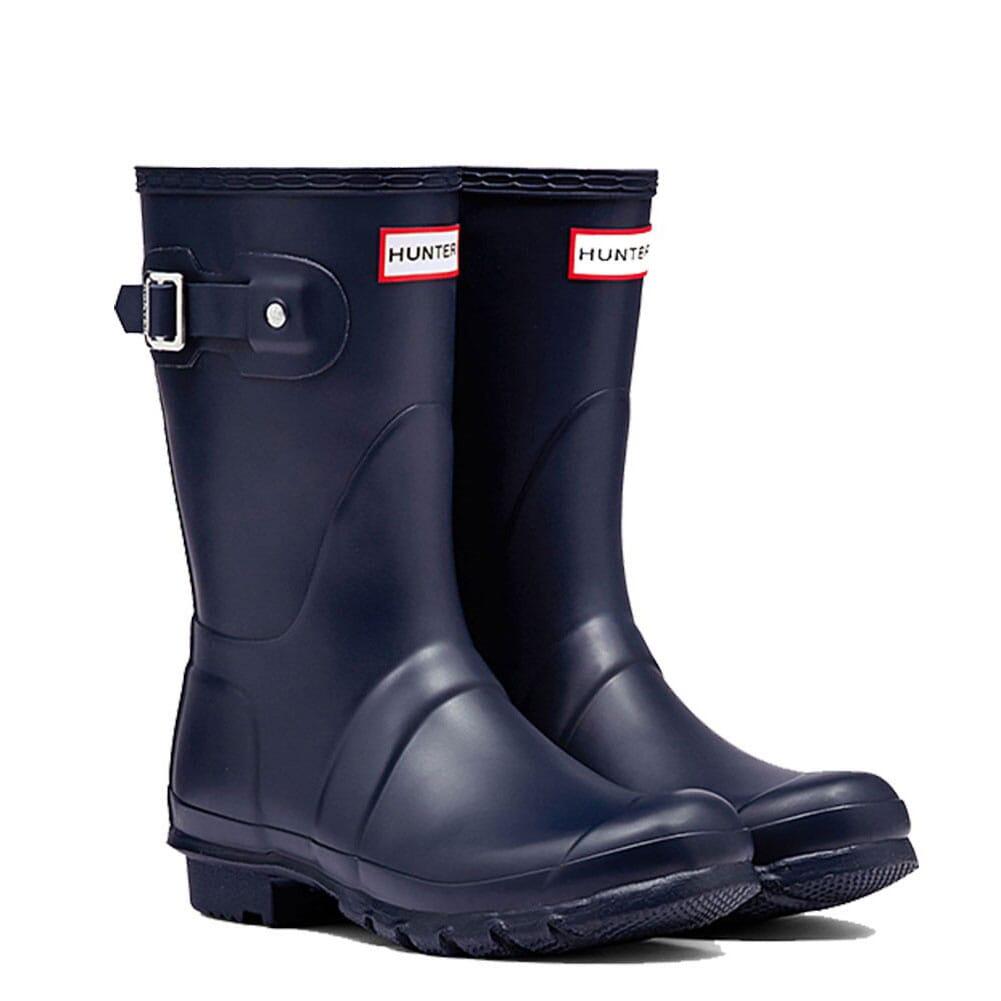 Image for Hunter Women's Short Rain Boots - Navy from elliottsboots