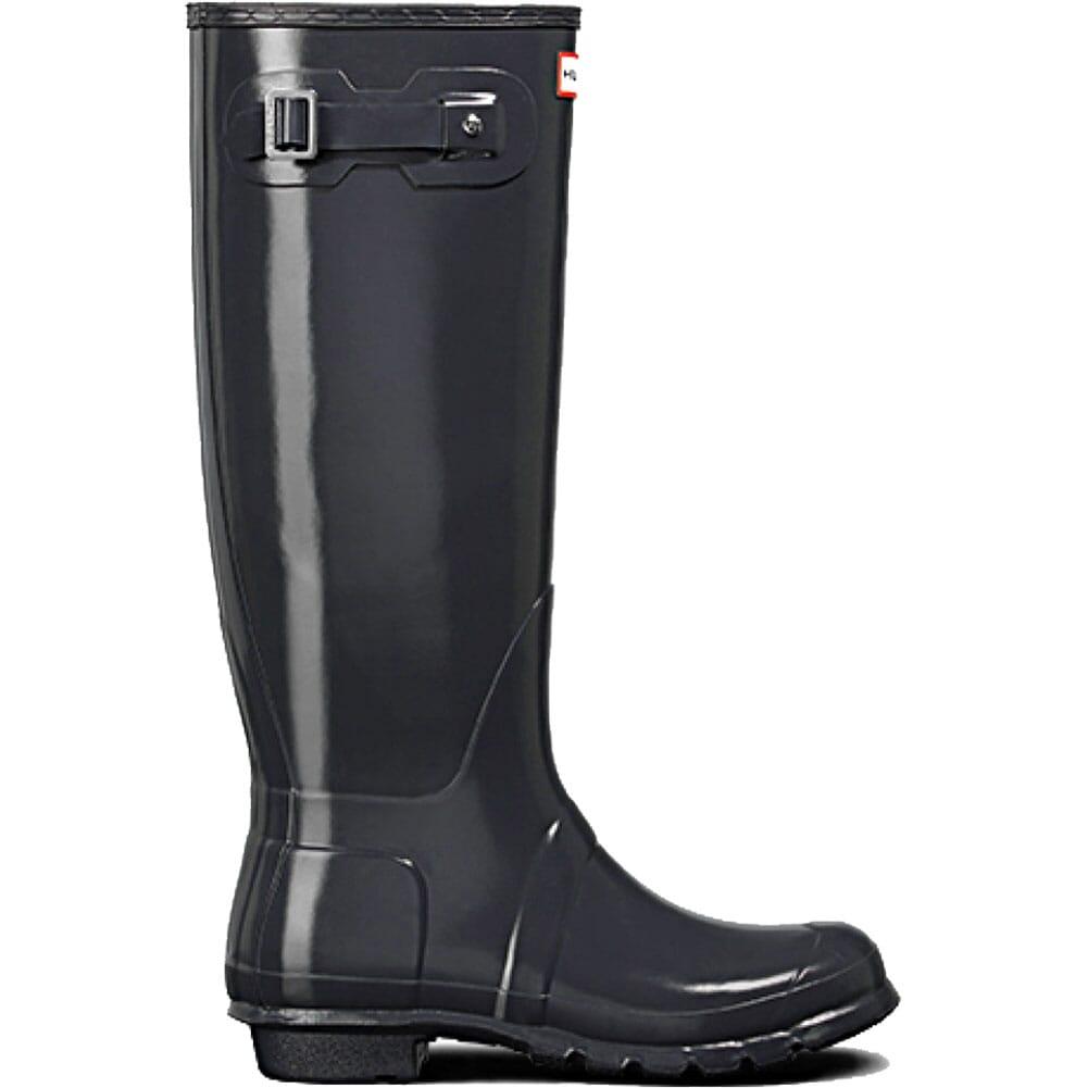 Image for Hunter Women's Original Tall Gloss Rain Boots - Dark Slate from elliottsboots