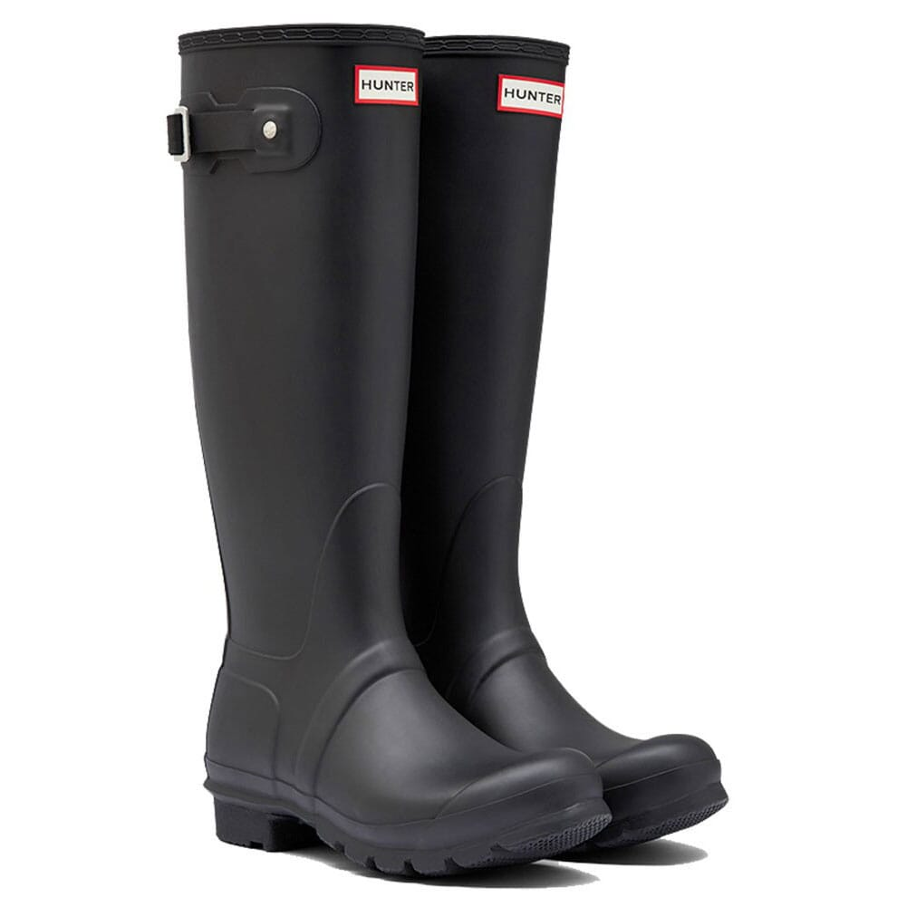 Image for Hunter Women's Original Tall Rain Boots - Black from elliottsboots