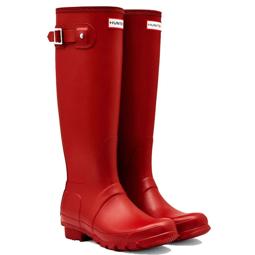 Image for Hunter Women's Original Tall Rain Boots - Red from elliottsboots