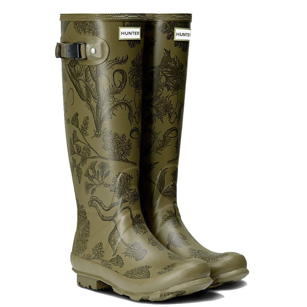 Image for Hunter Women's Norris Field Rain Boots - Moor Green from elliottsboots