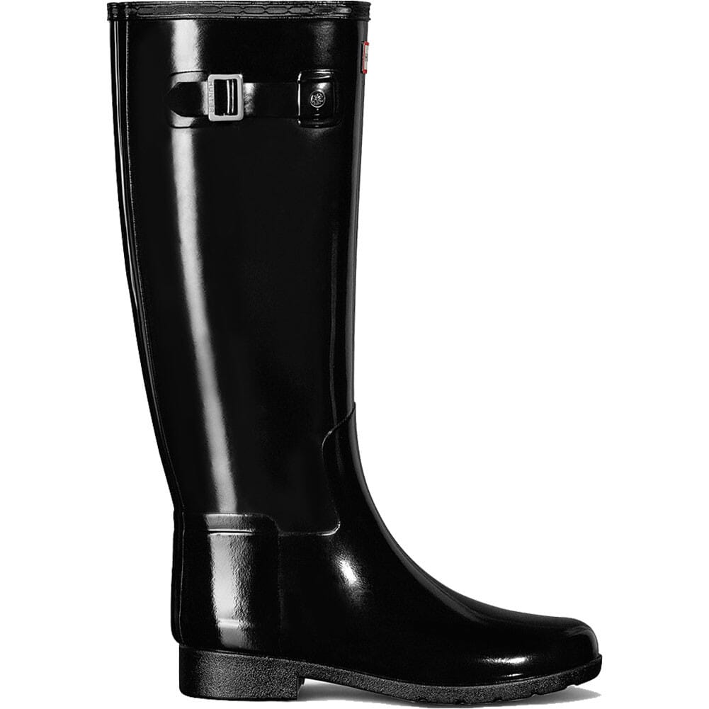 Image for Hunter Women's Original Refined Gloss Boots - Black from elliottsboots