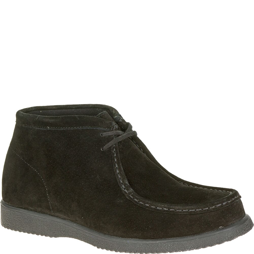 Image for Hush Puppies Men's Bridgeport Casual Shoes - Black Suede from bootbay
