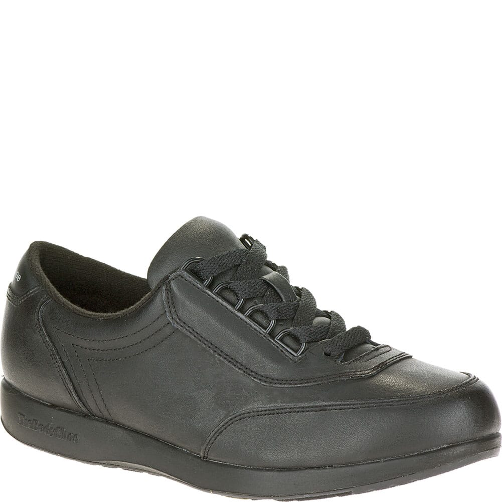 Image for Hush Puppies Women's Classic Walker Casual Shoes - Black from bootbay