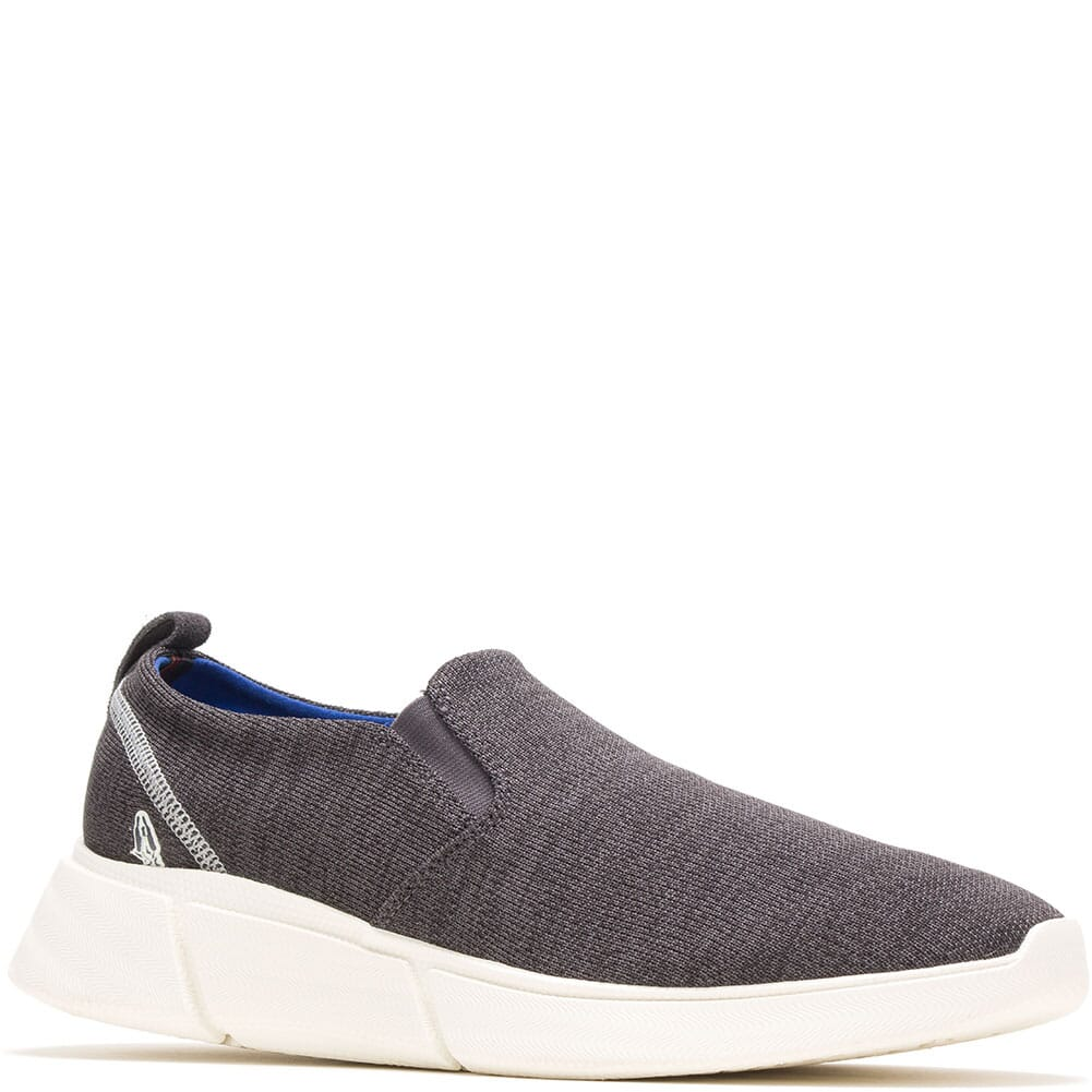 Image for Hush Puppies Men's Cooper Lace Up Casual Slip On - Grey Heathered from bootbay