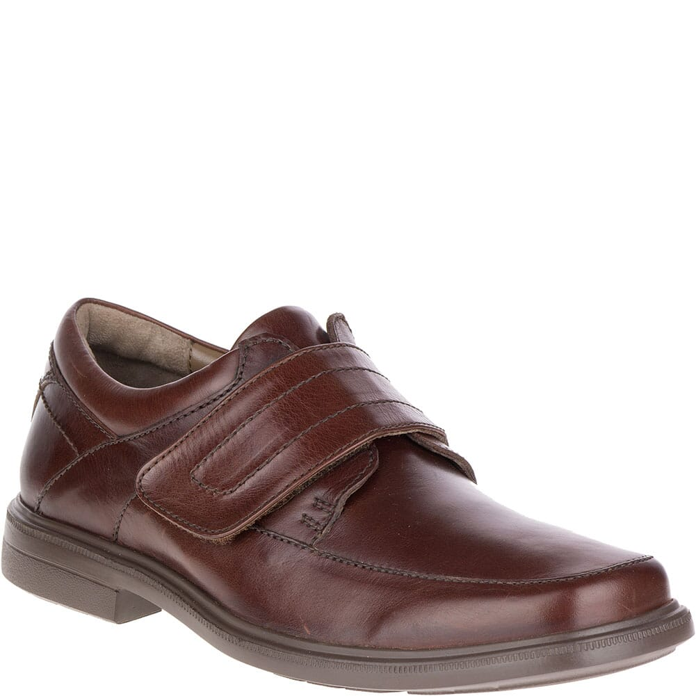 Image for Hush Puppies Men's Peri Hopper Casual Shoes - Dark Brown from bootbay