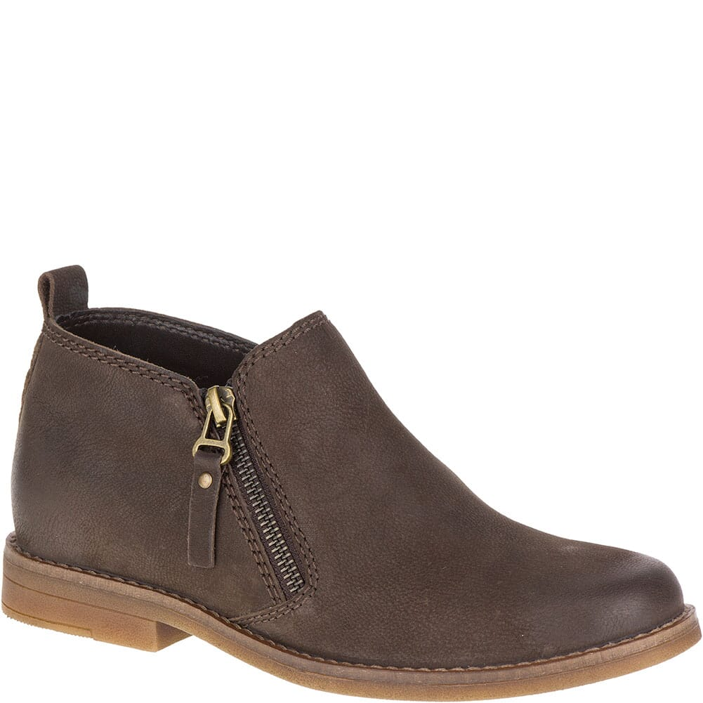Image for Hush Puppies Women's Mazin Cayto Casual Boots - Dark Brown from bootbay