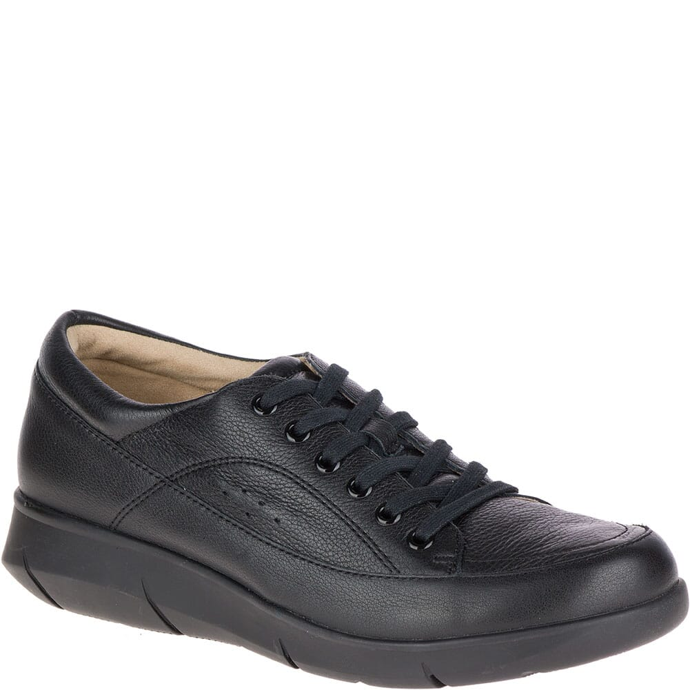 Image for Hush Puppies Women's Dasher Mardie Casual Shoes - Black from bootbay