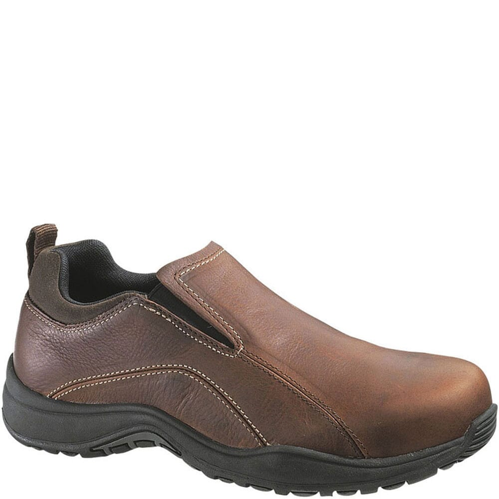 Image for Hush Puppies Professionals by Hytest Unisex Safety Shoes - Brown from bootbay