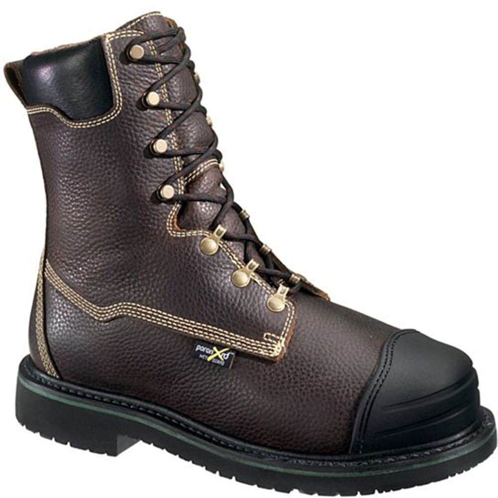 Image for Hytest Men's EH XRD Met Guard Safety Boots - Brown from bootbay