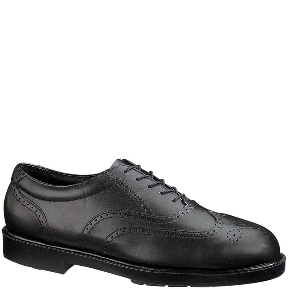 Image for Hush Puppies by HyTest Men's Wing Tip Safety Shoes - Black from bootbay