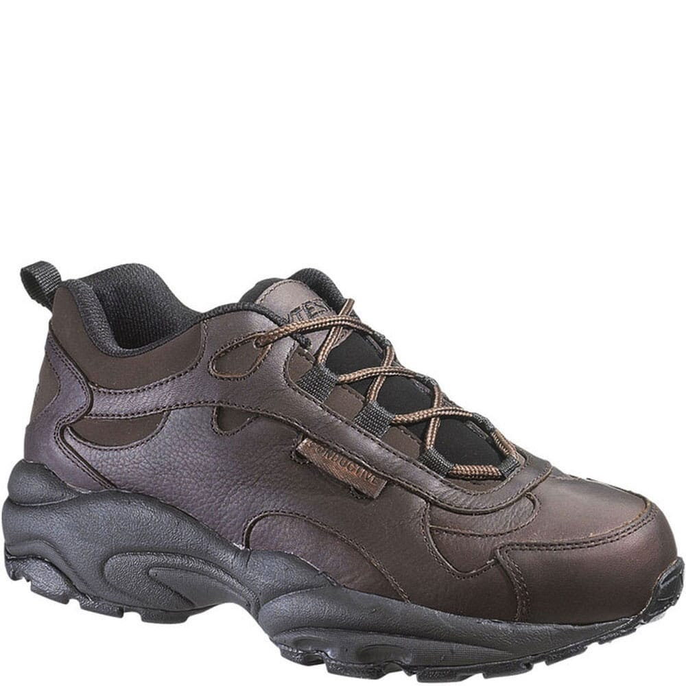 Image for HyTest Unisex Conductive Safety Oxford Shoes - Brown from bootbay