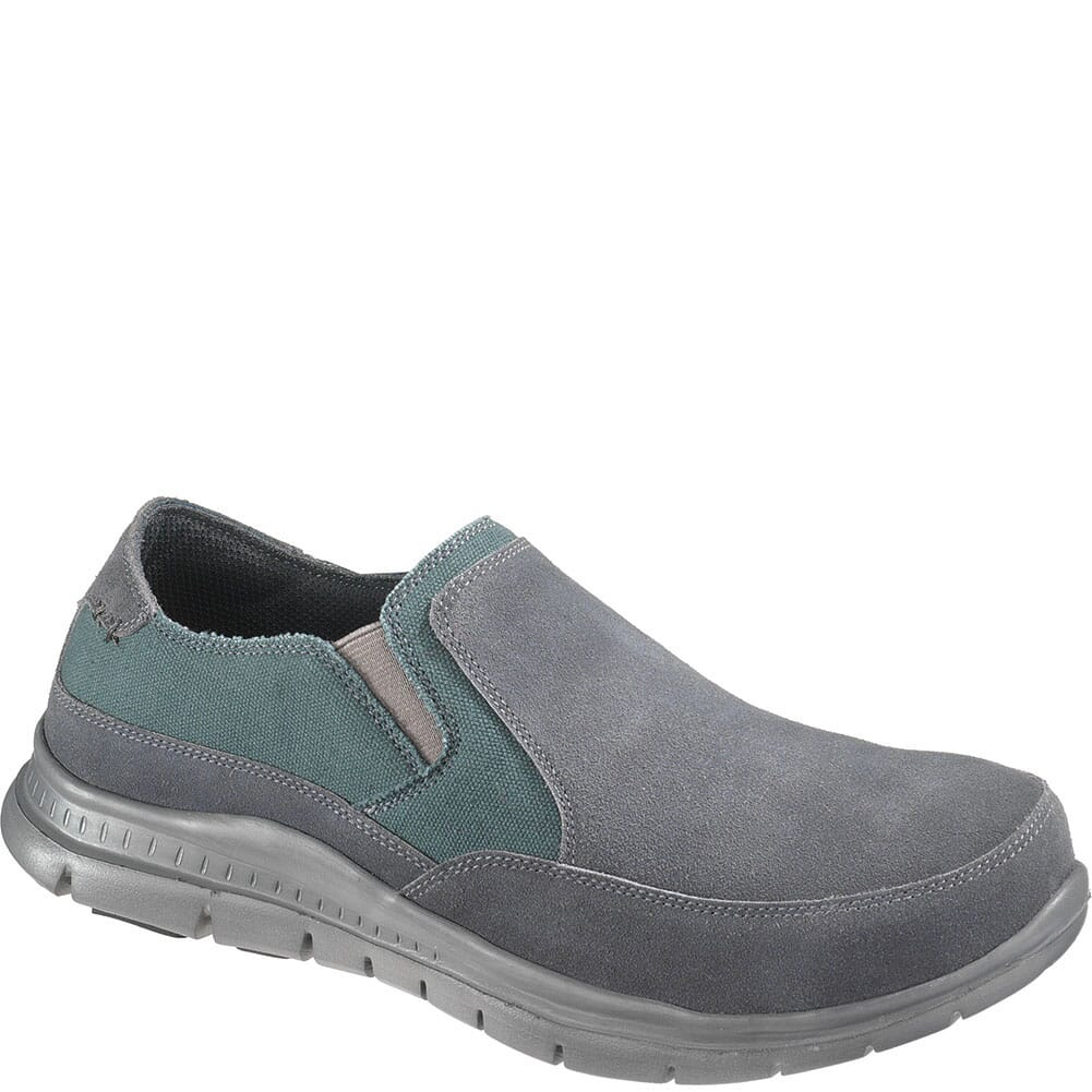 Image for Hytest Men's Canvas Safety Shoes - Grey from bootbay