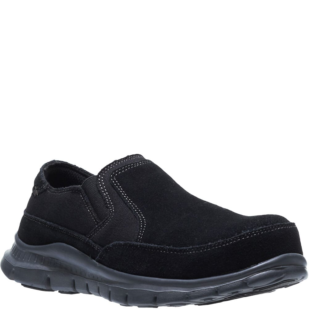 Image for Hytest Men's Blake Slip On Safety Shoes - Black from bootbay