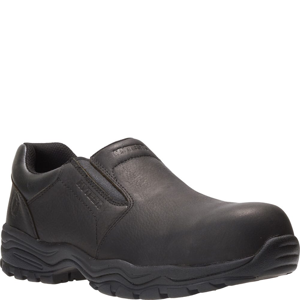 Image for Hytest Men's Avery Slip On Shoes - Black from bootbay