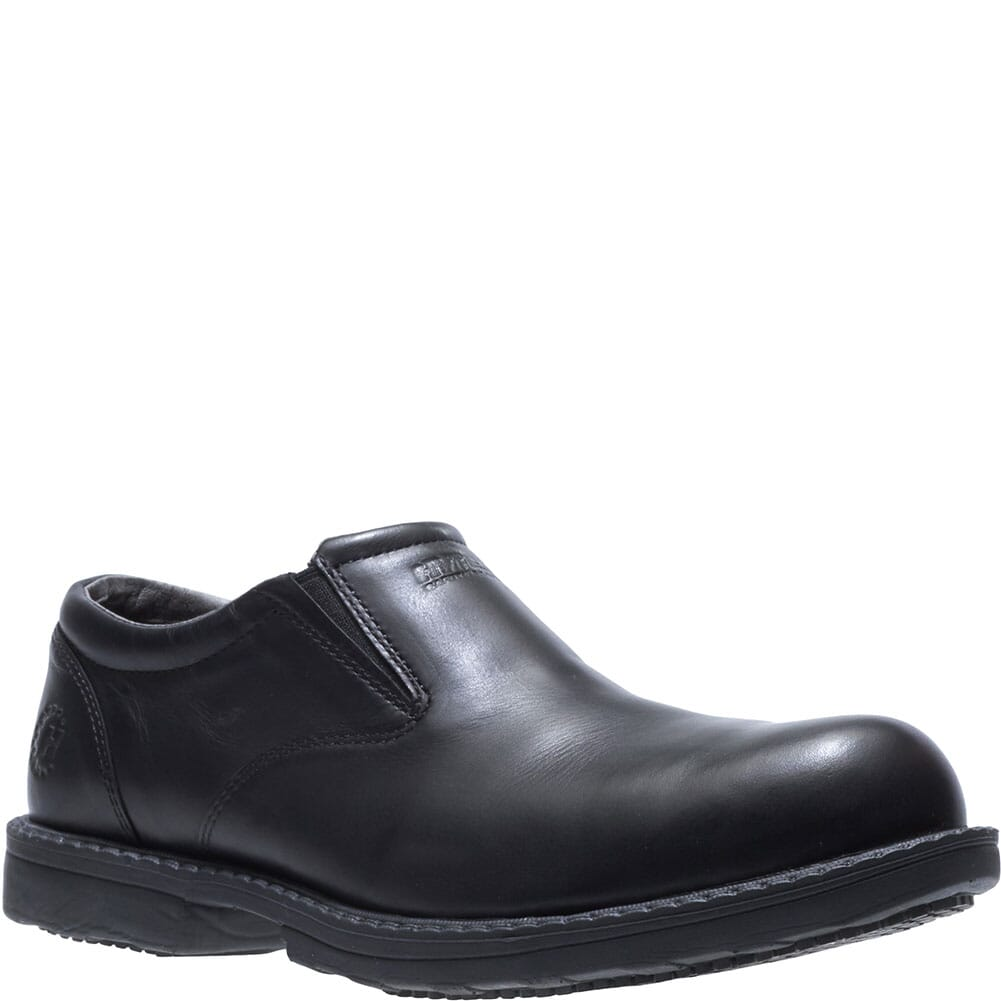 Image for Hytest Men's Bradford Safety Slip On - Black from bootbay