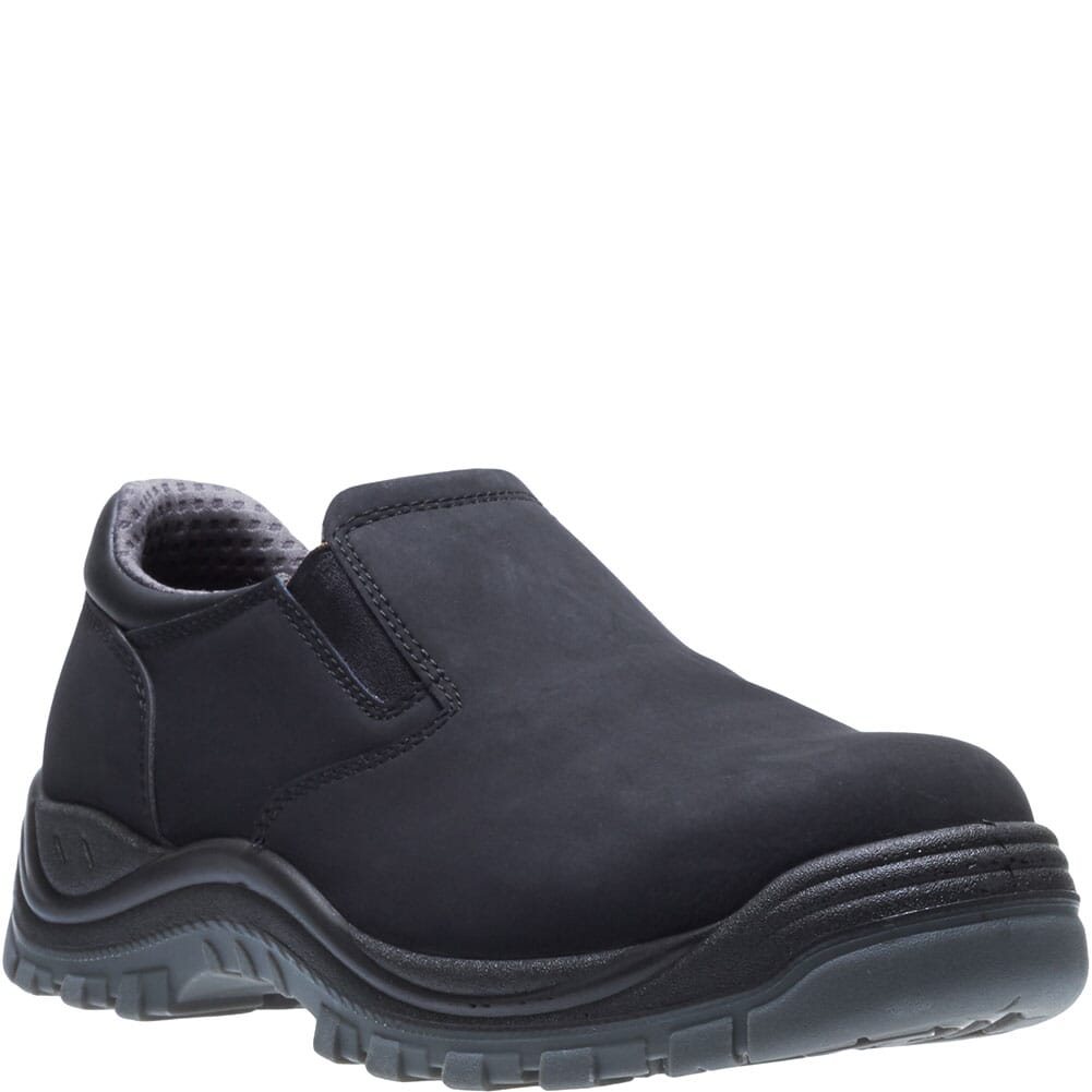 Image for Hytest Men's Knox Direct Attach Safety Slip On - Black from bootbay