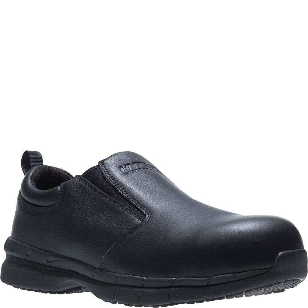 Image for Hytest Men's Hy-Light Safety Slip Ons - Black from bootbay