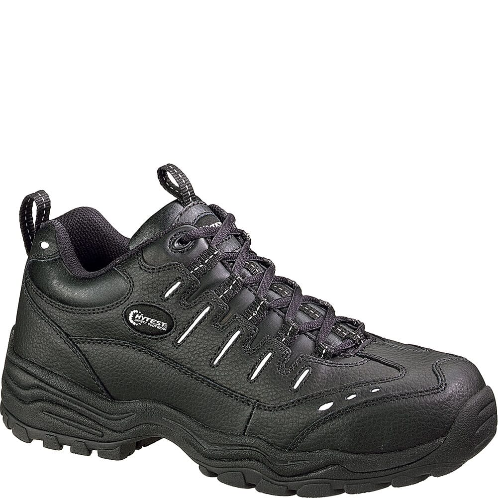Image for Hytest Men's SR Safety Shoes - Black from bootbay