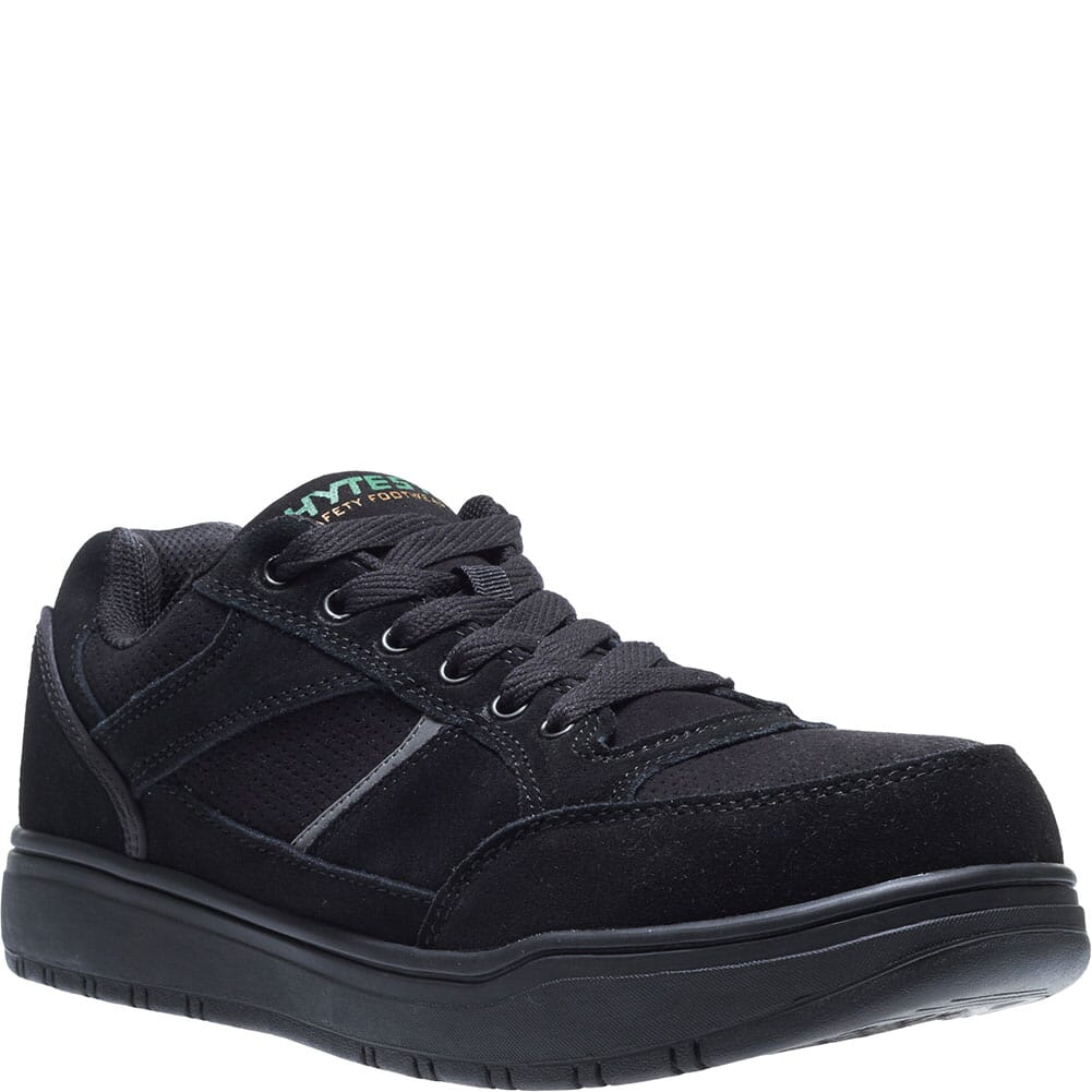 Image for Hytest Men's Steel Toe Safety Shoes - Black from bootbay