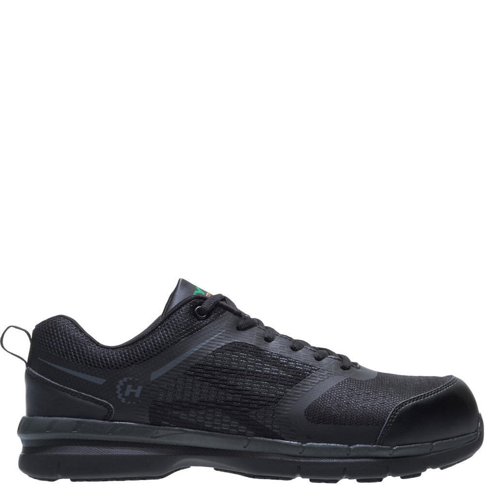 Image for Hytest Men's Cadmium Safety Shoes - Black from bootbay