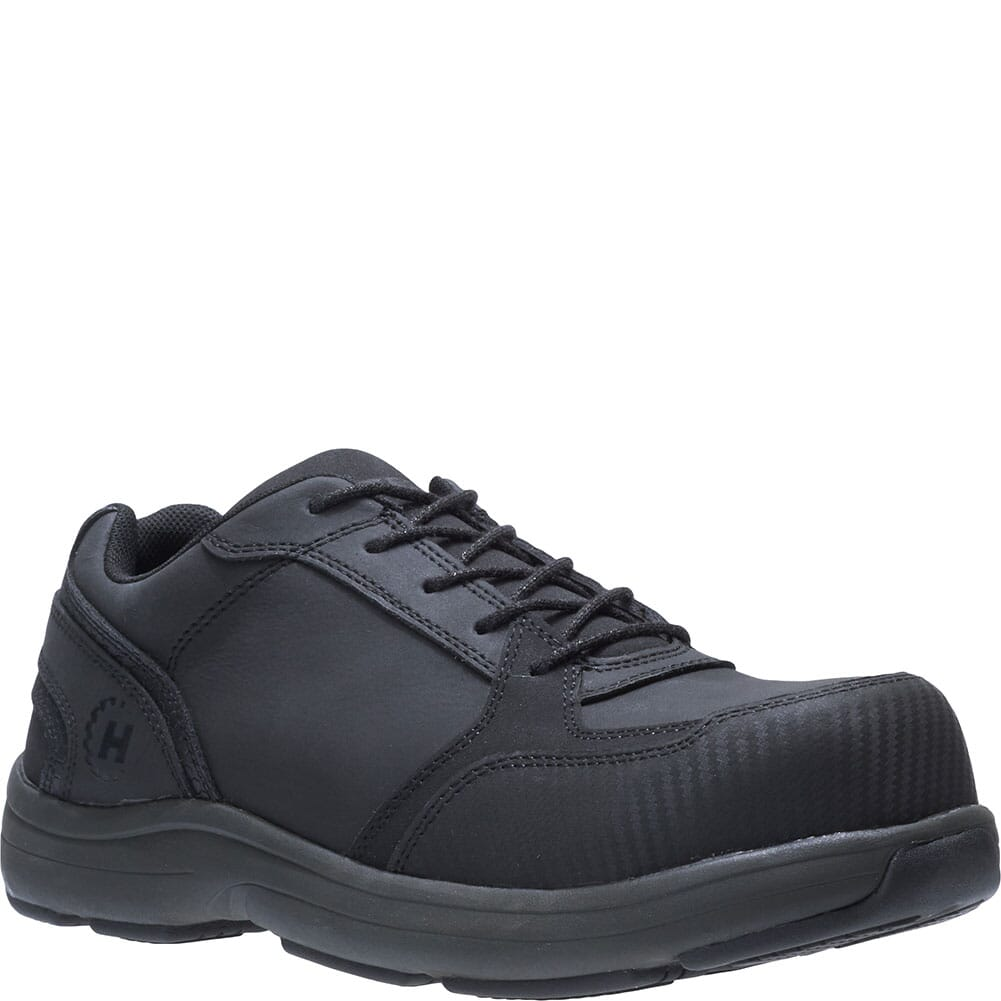 Image for Hytest Men's Anaheim Safety Shoes - Black from bootbay