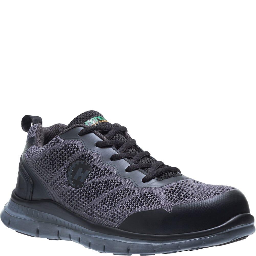 Image for Hytest Men's Runner Safety Shoes - Black from bootbay