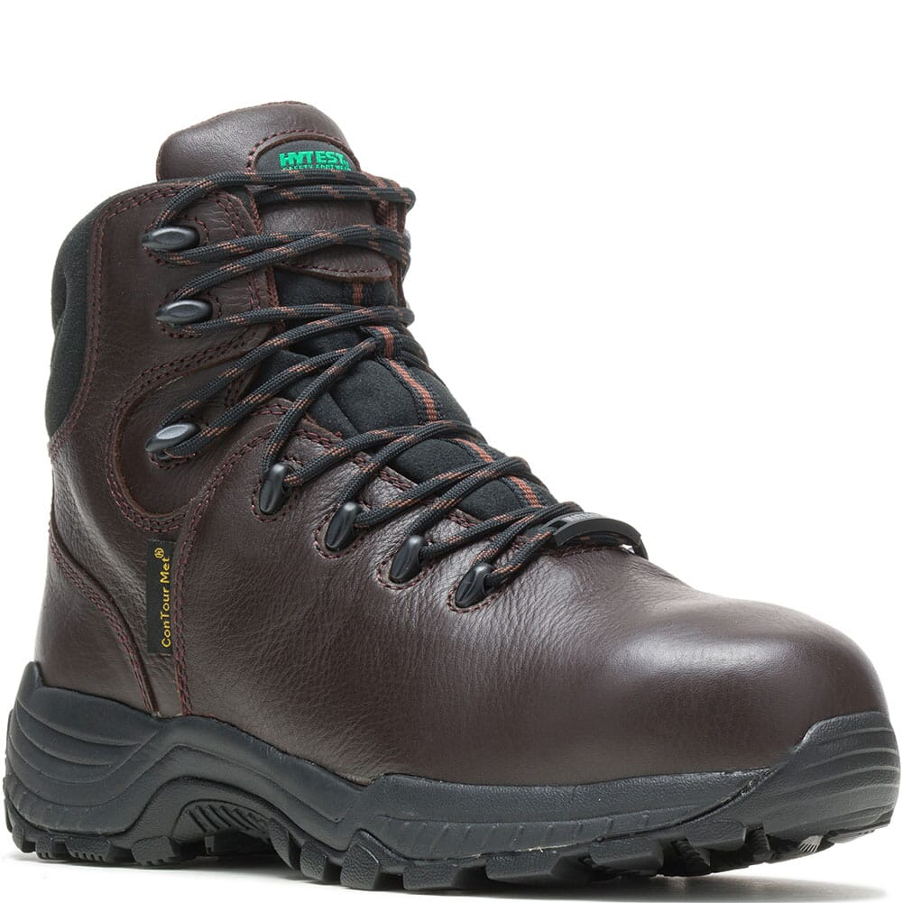 Image for Hytest Men's Met Guard CT Safety Shoes - Brown from bootbay