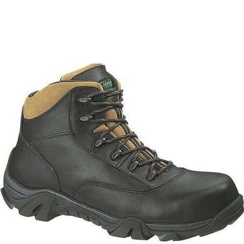 Image for Hytest Unisex Waterproof Safety Boots - Black from bootbay