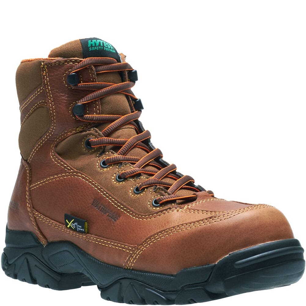 Image for Hytest Men's Internal Met Safety Boots - Brown from bootbay