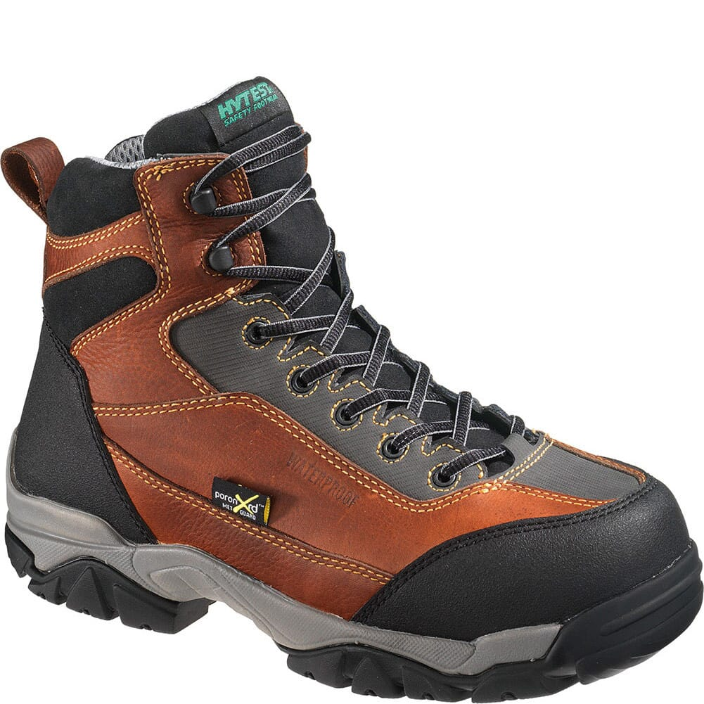Image for Hytest Men's Met Guard EH Safety Boots - Brown from bootbay