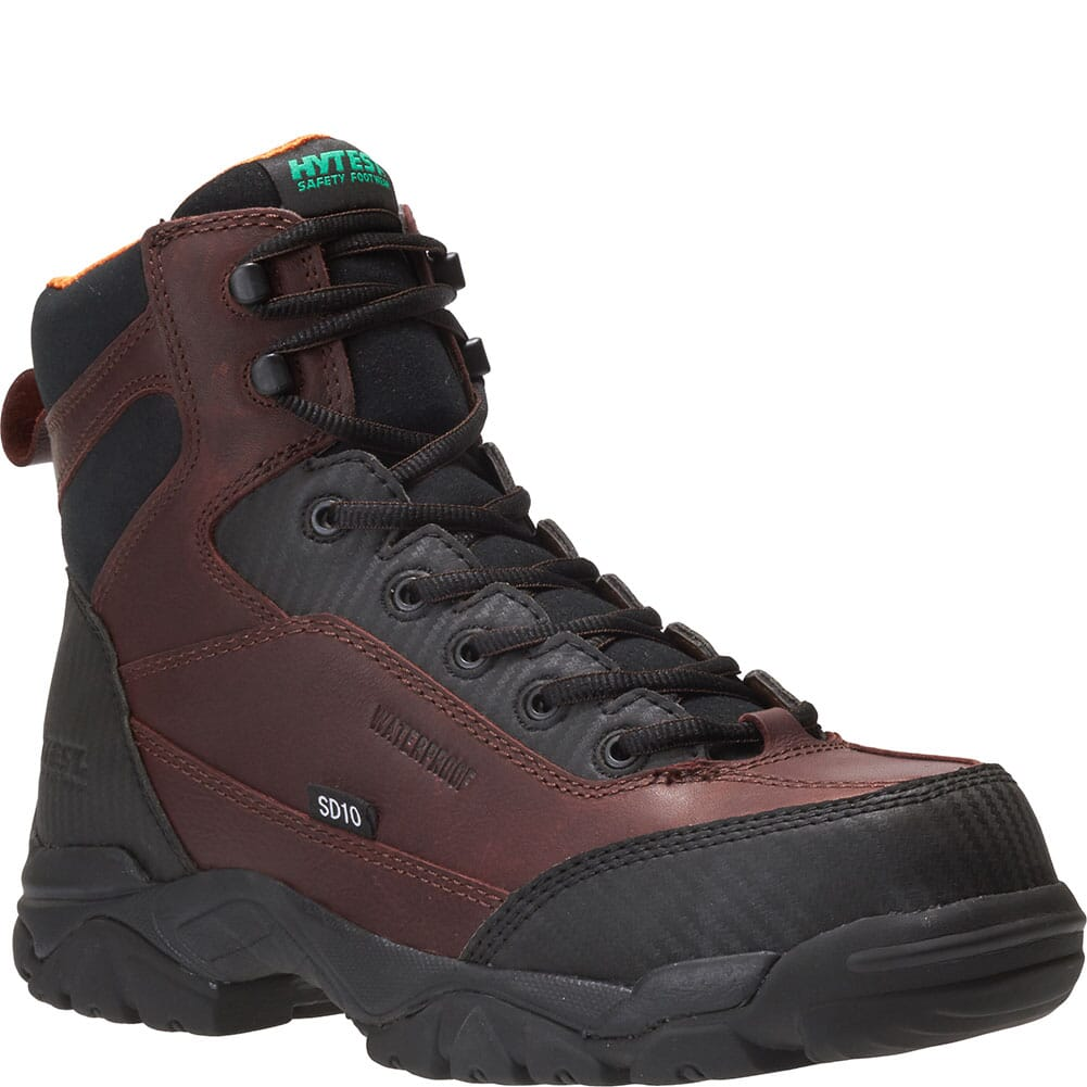 Image for Hytest Men's Apex Waterproof Safety Boots - Brown from bootbay