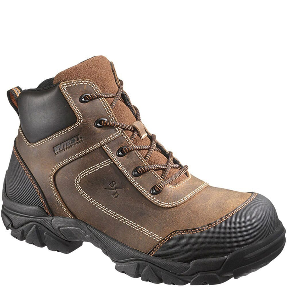 Image for Hytest Unisex SD Comp Safety Boots - Brown from bootbay