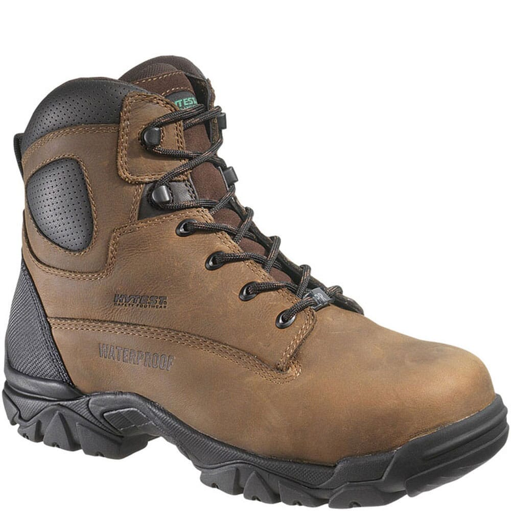 Image for HyTest Unisex PR WPF Safety Boots - Brown from bootbay