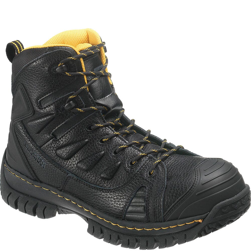 Image for Hytest Men's Steel Toe Safety Boots - Black from bootbay