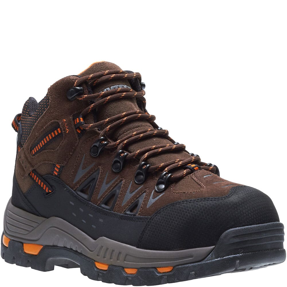 Image for Hytest Men's Electrical Hazard Safety Shoes - Brown from bootbay