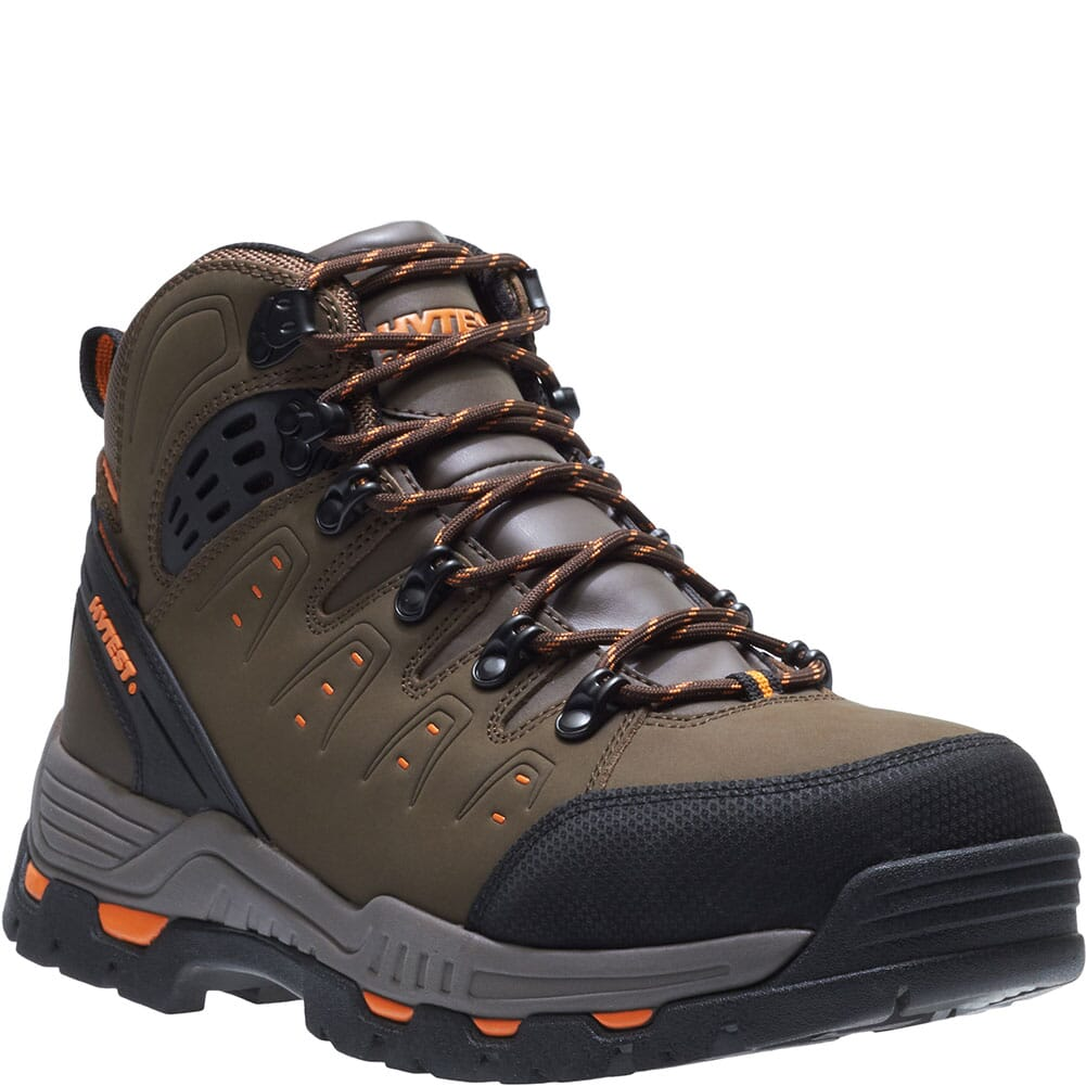 Image for Hytest Men's WP EH Safety Boots - Brown from bootbay